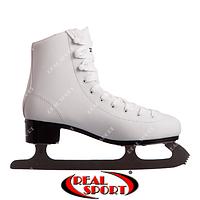 Фигурные коньки белые Zelart Z-0888, р. 35-40