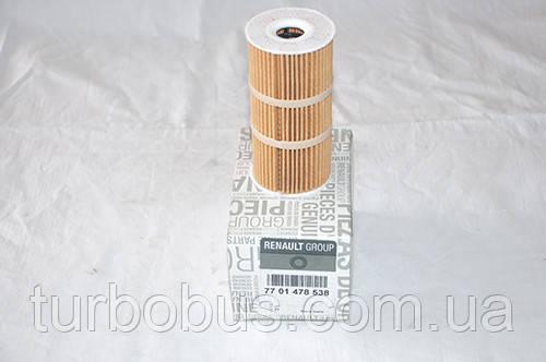 Фильтр масла Master/Movano 2.3 dci, от 2010 года 152094543r
