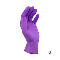 Перчатки нитриловые неопудренные сиреневые STYLE Prunei 100 шт