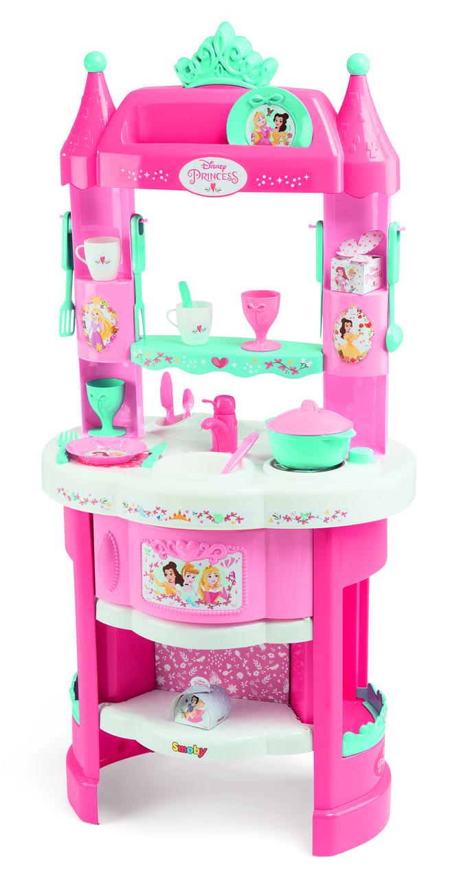 Уцінка Дитяча кухня Smoby Toys Disney Princess з аксесуарами (311700)