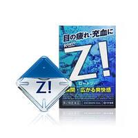 Капли для глаз Rohto Z витаминизированные капли для глаз, жидкие линзы, капли от усталости