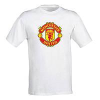 """Мужская футболка с принтом футбольного клуба  """"Manchester united"""" Push IT"""