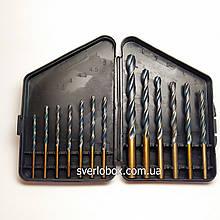 Набір свердел по металу Р9 (3-10 мм)