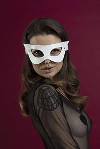 Маска на лицо Feral Feelings - Mistery Mask, натуральная кожа, белая