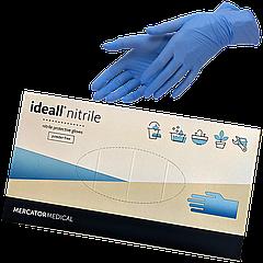 Перчатки Nitrylexl Classik нитриловые неприпудренные синие  L (1уп/100шт)