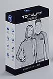 Термофутболка Totalfit Sport TWR12 XXL серый, голубой, фото 3