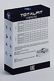 Термофутболка Totalfit Sport TWR12 XXL серый, голубой, фото 4