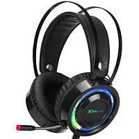 Наушники игровые XTRIKE ME Gaming RGB Backlight GH-708, черные
