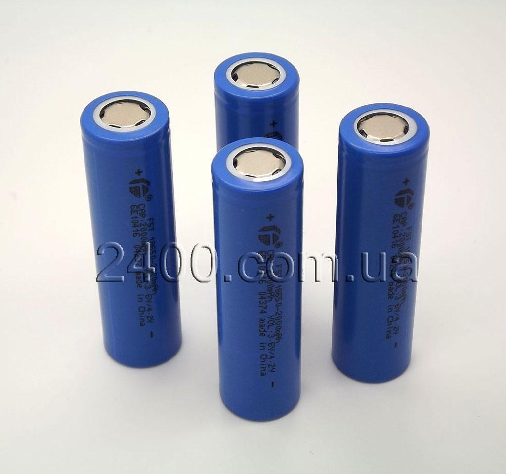 литий ионные аккумуляторы 18650 для фонарика (батарейка/акб)