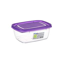 Контейнер для пищевых продуктов 0,6 литра 15х11х6 см