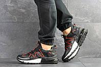 Мужские кроссовки Nike,черные с красным, фото 1