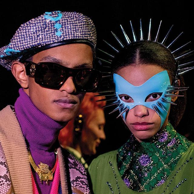 Образи в масках на показах модного дому Gucci
