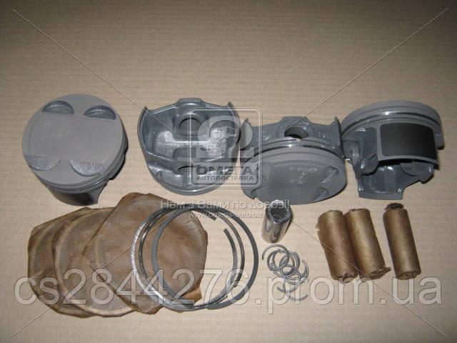 Поршень цилиндра ВАЗ 11194 Калина d=76,5 группа A Мотор Комплект (Black Edition/EXPERT+поршневой палец+поршневые кольца) (МД Кострома) 11194-1004018-К