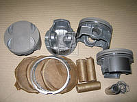 Поршень цилиндра ВАЗ 11194 Калина d=77,0 группа B Мотор Комплект (Black Edition/EXPERT+поршневой палец+поршневые кольца) (МД Кострома)