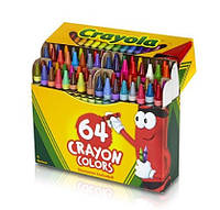 Набор цветных карандашей Crayola 64 шт.+точилка