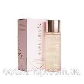 Преміальне масло для ванн HighOnLove Bath Oil - Lavender Honeybee (100 мл) з олією насіння конопель