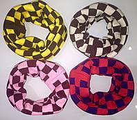 Зимний детский шарф-хомут