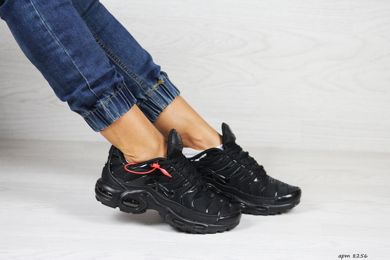 Кроссовки женские,подростковые Nike air max TN,черные