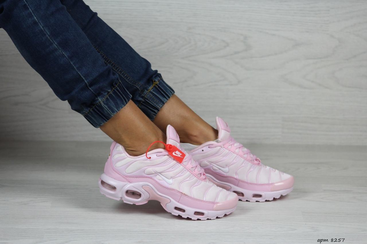 Кроссовки женские,подростковые Nike air max TN,розовые
