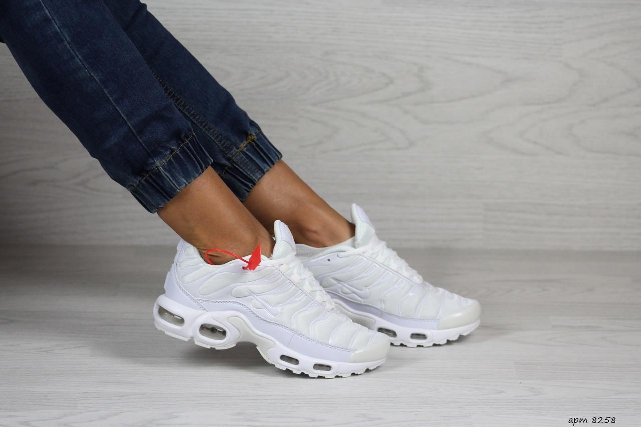 Кроссовки женские,подростковые Nike air max TN,белые