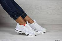 Кроссовки женские,подростковые Nike air max TN,белые, фото 1