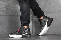 Кроссовки мужские Nike Air Force 270, черно-белые, фото 1