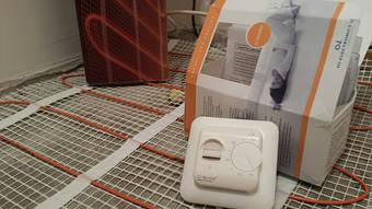 Електрична тепла  підлога Фенікс