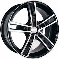 Литые диски Racing Wheels H-412 R17 W7 PCD5x114.3 ET40 DIA73.1 (BK-F/P)