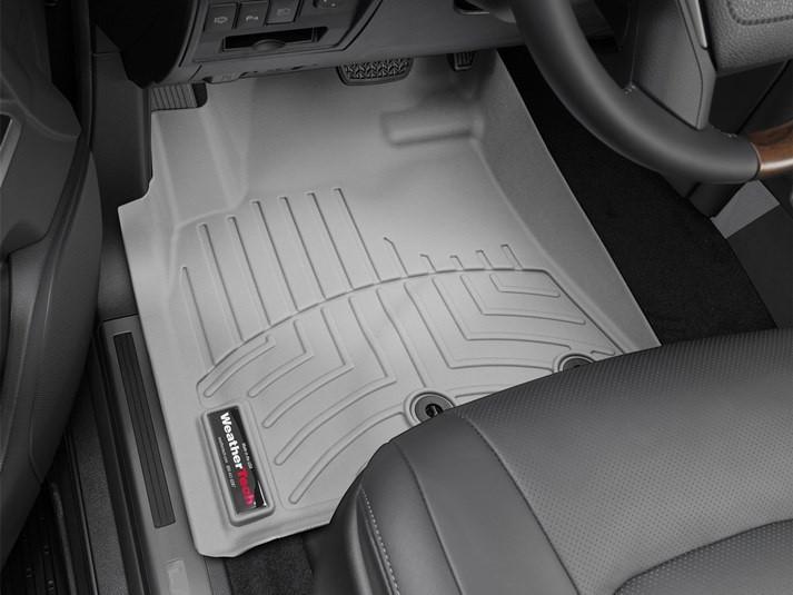 Ковры резиновые WeatherTech Lexus LX 2012+ передние серые