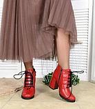 Ботильоны кожаные Charlotte, фото 3