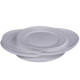 Набор обеденных тарелок круглых A-PLUS 26.6 см х 6 шт (1857)