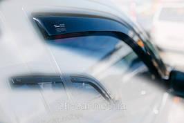 Дефлекторы окон (ветровики) Д/о Audi 100 4D 1982-1991 - Heko (2шт)