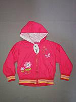 Красная ветровка для девочки  2, 3 лет, фото 1