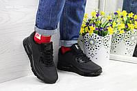 Модные кроссовки Nike Air Max Ultra Moire черные 36,38,41р, фото 1