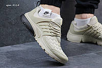 Кроссовки Nike air presto TP QS текстиль,бежевые 43,44р, фото 1