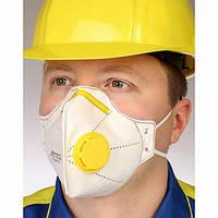 Респиратор маска Микрон с клапаном FFP-2