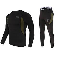 Термобелье ESDY A152 L Black для мужчин ветрозащитное антифрикционное удобное для активного отдыха от холода