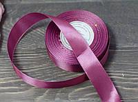 Лента атлас 2,5 см сливового цвета, фото 1