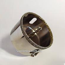 Коронка алмазная 35 мм по керамограниту с направляющим сверлом