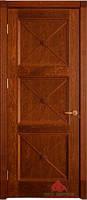 Двери межкомнатные Адант (ПГ./ПО) дуб тонированный
