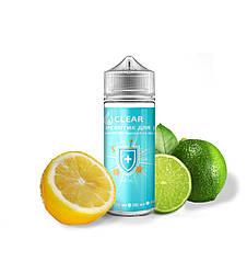 """_Антисептик  для рук """"Clear"""" 120 мл. (70%) з ароматом """"Лимон-Лайм""""  Санитайзер"""