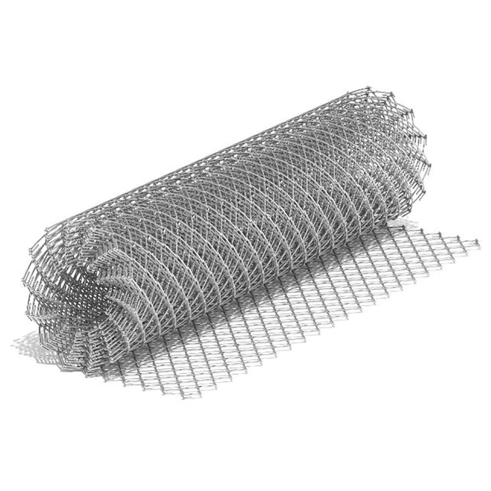 Сетка рабица 1,6x50x50 мм (1,5x10 м) оцинкованная (рул)