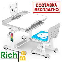 Детский комплект Парта и стул Evo-kids BD-04 Teddy