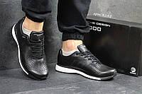 Мужские кожаные кроссовки Adidas Porsche Design P 5000,черно-белые, фото 1