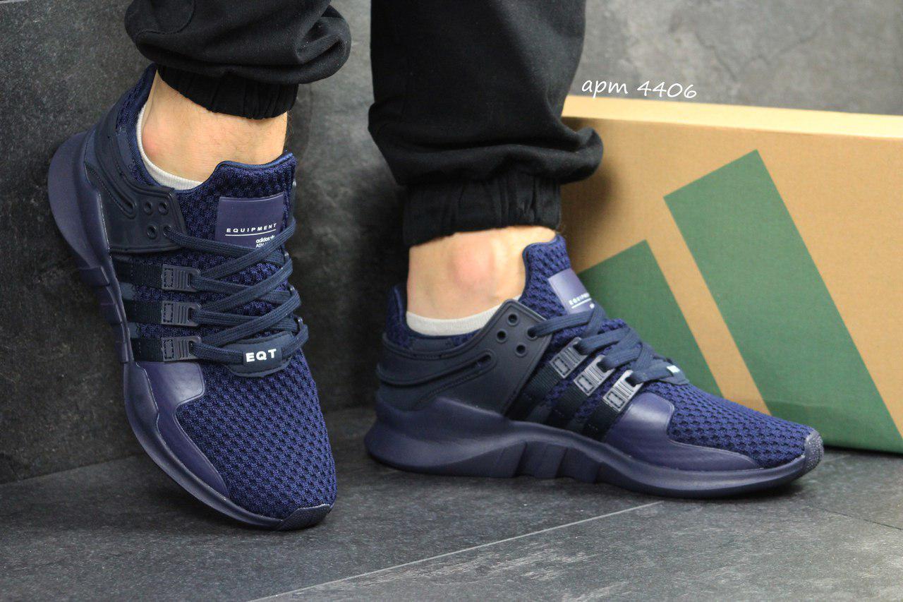 Кроссовки мужские Adidas Equipment, синие 44р