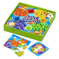 """Детская настольная развивающая """"фруктовая"""" игра Cherry-O для изучения счета и сортировки, от 3 лет"""