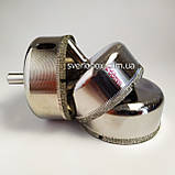Алмазна Коронка по плитці і склу 14 мм, Коронка 14 мм з алмазним напиленням по склу та кераміці, фото 8