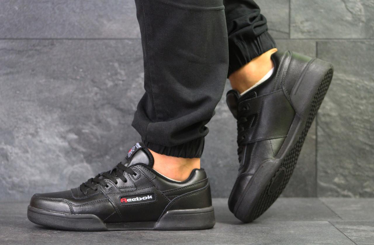 Мужские кроссовки Reebok,черные 42