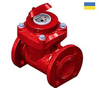 Счетчик воды турбинный для горячей воды WPK-UA 200 R100