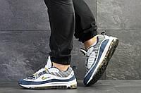 Мужские кроссовки Nike,синие с белым, фото 1